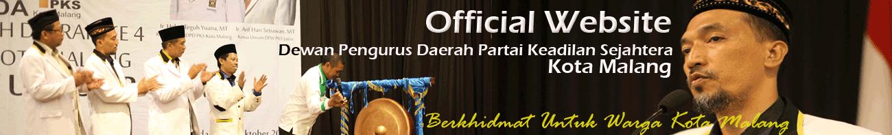 Website Partai Keadilan Sejahtera Kota Malang